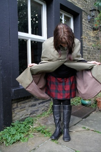 Burdastyle cape 14