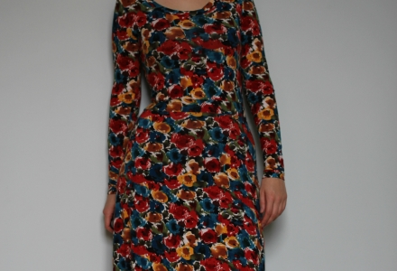 dress renfrew flowers