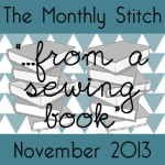 "November 2013: ""...from a sewing book"