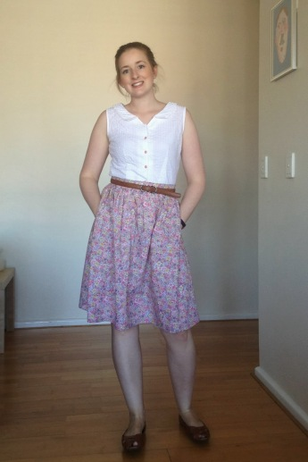 Floral Emery skirt