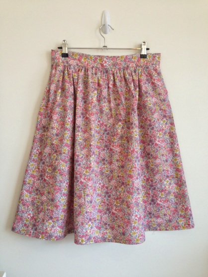 Floral Emery Skirt Hack