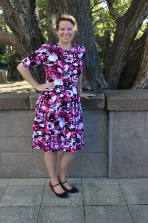 Floral Mortmain by Nikki's Stitches