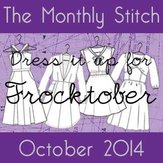 Frocktober | The Monthly Stitch
