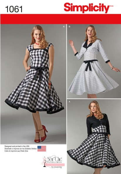 Designed by Sew Chic Patterns for Simplicity Fall 2015