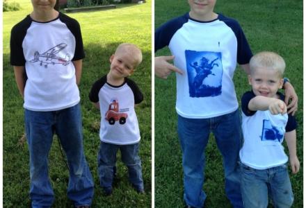 Skirt Fixation sews the Oliver+S Raglan T-shirt 4 ways!
