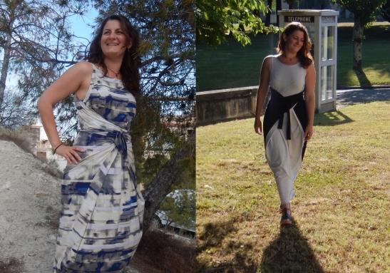 Manouela's pair of Kielo dresses