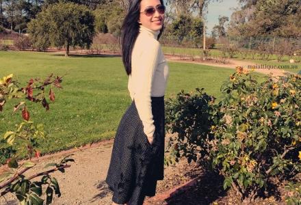 Simplicity 1606 circle skirt