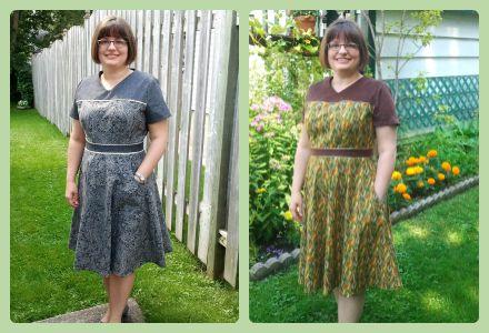 KwikSew Two Dresses web
