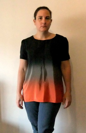 tms ombre top refashion