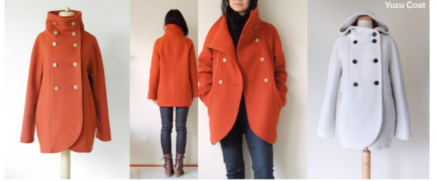 Yazu coat pattern