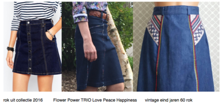 Flower Power Trio Love Pease Happiness
