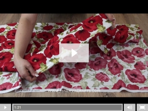 Dress fabric video from Minerva Crafts