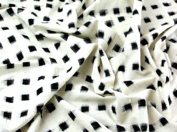 Cotton Ikat fabric from Minerva Crafts