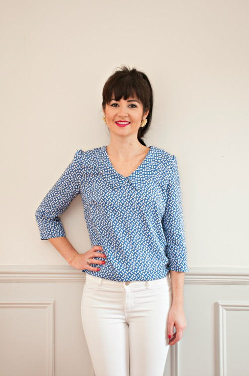Susie blouse by Sew Over It