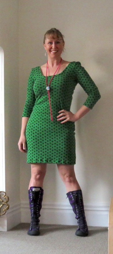Miriam Jessie's Ode to the Op Shop dress