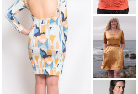 1980s inspired patterns
