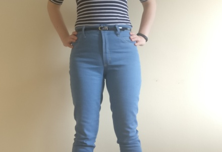Ginger Jeans made by Helen of H's Handcrafts