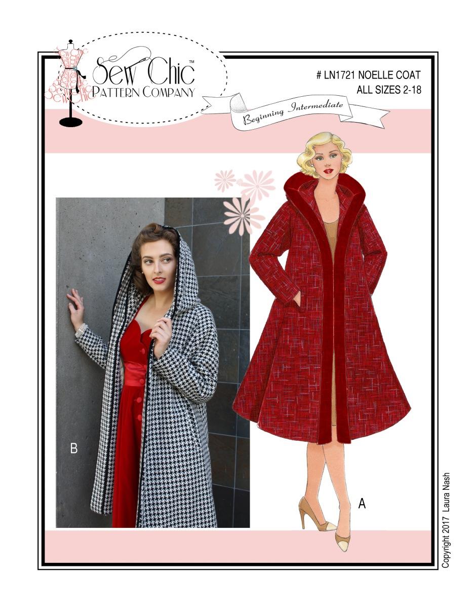 LN1721 Noelle Coat FRONT