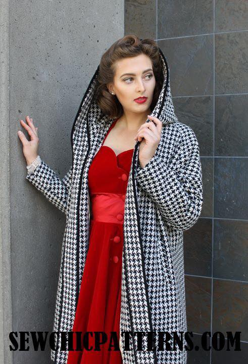 Sew Chic Noelle Coat view B